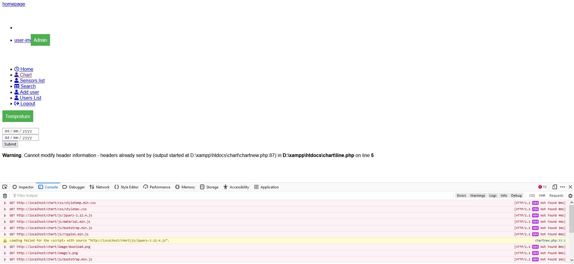 user shared sample dependencies